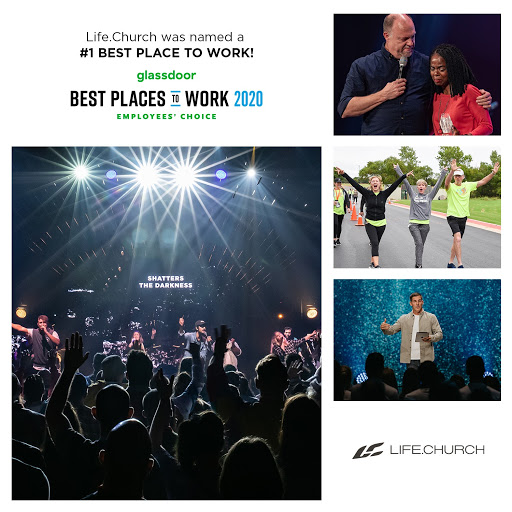 Life.Church named #1 best place to work